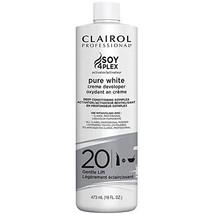 Clairol Professional Pure White 20 Volume Developer, 16 Ounce - $12.08