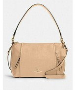Coach Im/Taupe Small Marlon Shoulder Bag / FREE SHIPPING - $179.00