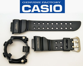 CASIO DW-8200BK G-Shock Frogman original rubber WATCH BAND & Bezel BLACK... - $78.95