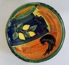 Ambiance Nanette Vacher LEMONCELLO Serving Plate Platter Lemons Tuscan G... - $39.59