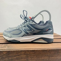 New Balance Athletic Sneakers Women's Size 6B Gray Lace Up Gunmetal/Dragonfly - $35.99