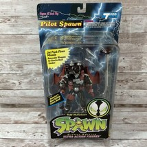 Spawn Pilot Spawn Ultra Action Figure 1995 McFarlane Toys VTG Black Variant - $18.76