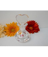 "Orrefors ""Heart Stopper"" Perfume Bottle~Signed~MINT~Collectible~The Perf... - $94.99"