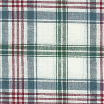 Longaberger Business Card Basket Liner in Market Day Plaid Fabric - $10.73