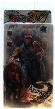 Street Fighter IV Series 2 Akuma Action Figure Brand NEW! - $74.99