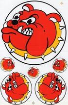D276 Bulldog dog Sticker Decal Racing Tuning Size 27x18 cm / 10x7 inch - $3.49