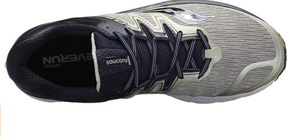 Saucony Guide Iso Talla US 9.5 M (D) Eu 43 Hombre Zapatillas para Correr Gris