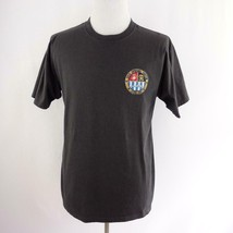 USS Spiegel Grove Artificial Reef Key Largo Gray Graphic T Shirt Mens Sz L - $26.03