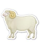 Emoji Ram shaped vinyl sticker 100mm or 150mm farming male sheep  bovida... - $3.00+