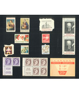 Old Stamps - Christmas, Canadian, Others - $3.00