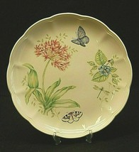 """Butterfly Meadow Eastern Tailed Blue by Lenox 10-7/8"""" Dinner Plate Floral Accent - $26.72"""