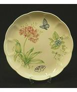 "Butterfly Meadow Eastern Tailed Blue by Lenox 10-7/8"" Dinner Plate Flora... - $26.72"