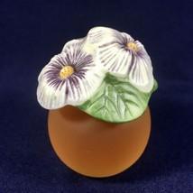 """Vintage Avon Ceramic Flower """"Meadow Blossoms"""" w/ 1.75 oz Cotillion Colog... - $18.66"""