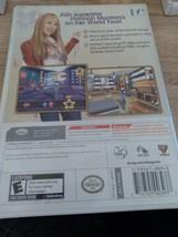 Nintendo Wii  Disney Hannah Montana: World Spotlight Tour image 2