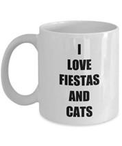 Fiesta Cat Mug Funny Gift Idea for Novelty Gag Coffee Tea Cup 11 oz - $14.97