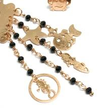 Drop Earrings 925 Silver, Crab, Mermaid, Little Seahorse Marine, le Favole image 2