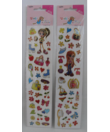 Stickers Bratz Girls 2 Sheets Accessories Purse Hearts Woodys NIP - $4.99