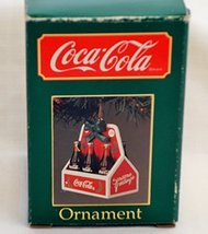 Coca-Cola Christmas Ornament - Six Bottles in a Carrier - $18.10