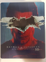 Batman V Superman Dawn of Justice Limited Ed UK Import Steelbook 3D + Blu-ray image 2