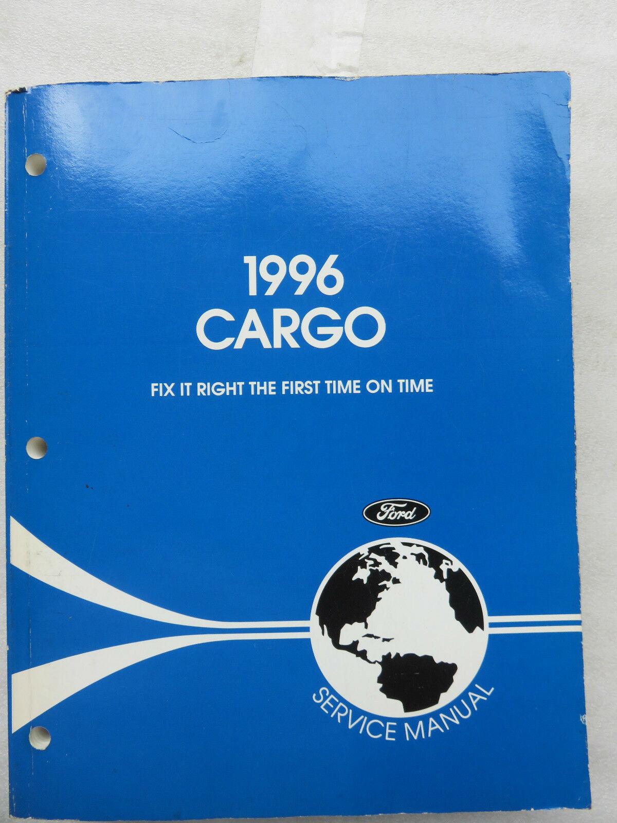 1996 Ford Cargo Service Manual OEM Factory Workshop Dealership - $11.43