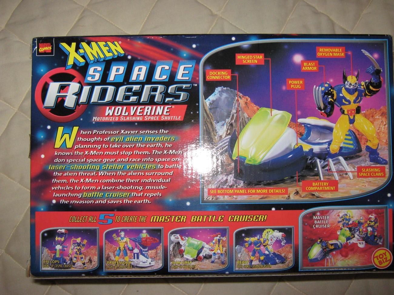 "X-men Space Riders ""Wolverine"""