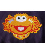 ZOE PATCH EMBROIDERED PATCH SESAME STREET MUPPETS DIY - $14.00
