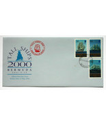 Bermuda First Day Cover - Tall Ships 2000 - $5.75