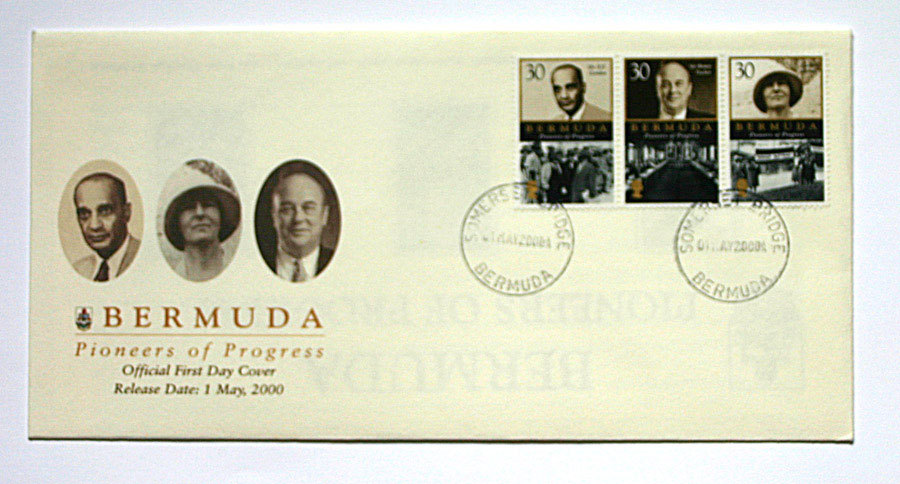 Bermuda First Day Covers - Pioneers of Progress