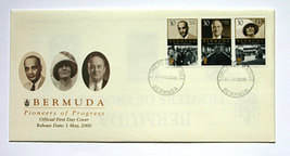 Bermuda First Day Covers - Pioneers of Progress - $5.75