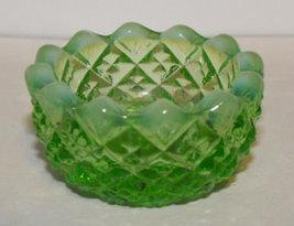 1 Mosser Glass Open Salt Green Opalescent - $6.50