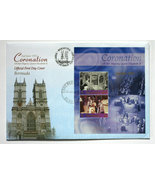 Bermuda First Day Cover & Sheetlet - Coronation QEII - $10.50