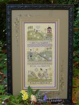 Gratitude Kit cross stitch kit Shepherd's Bush - $100.00