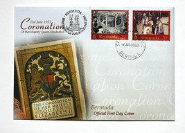 Bermuda First Day Cover - Coronation of Queen Elizabeth II - $6.75