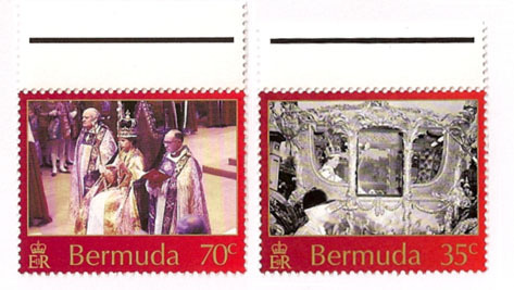 Bermuda First Day Cover - Coronation of Queen Elizabeth II