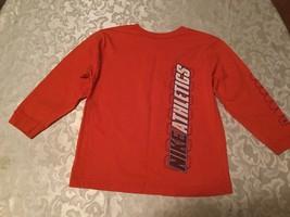 Boys - Size 6-Nike shirt/sweater-orange long sleeve sports athletic top - $10.25