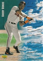 1994 Upper Deck #38 Barry Bonds FT - $0.50