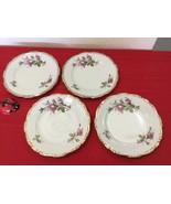 "Vtg Japan Nippon Yoko Boeki  8"" Cookie Plates Set of Four - $35.00"