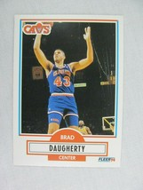 Brad Daugherty Cleveland Cavaliers 1990 Fleer Basketball Card 31 - $0.98