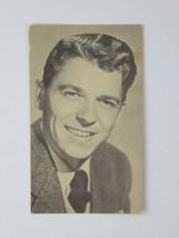 Ronald Reagan RPPC Vintage Warner Bros. 3.5 x 5.5 Postcard Black & White... - $29.65