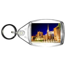 coventry uk cathedral keyring double sided , keychain uk