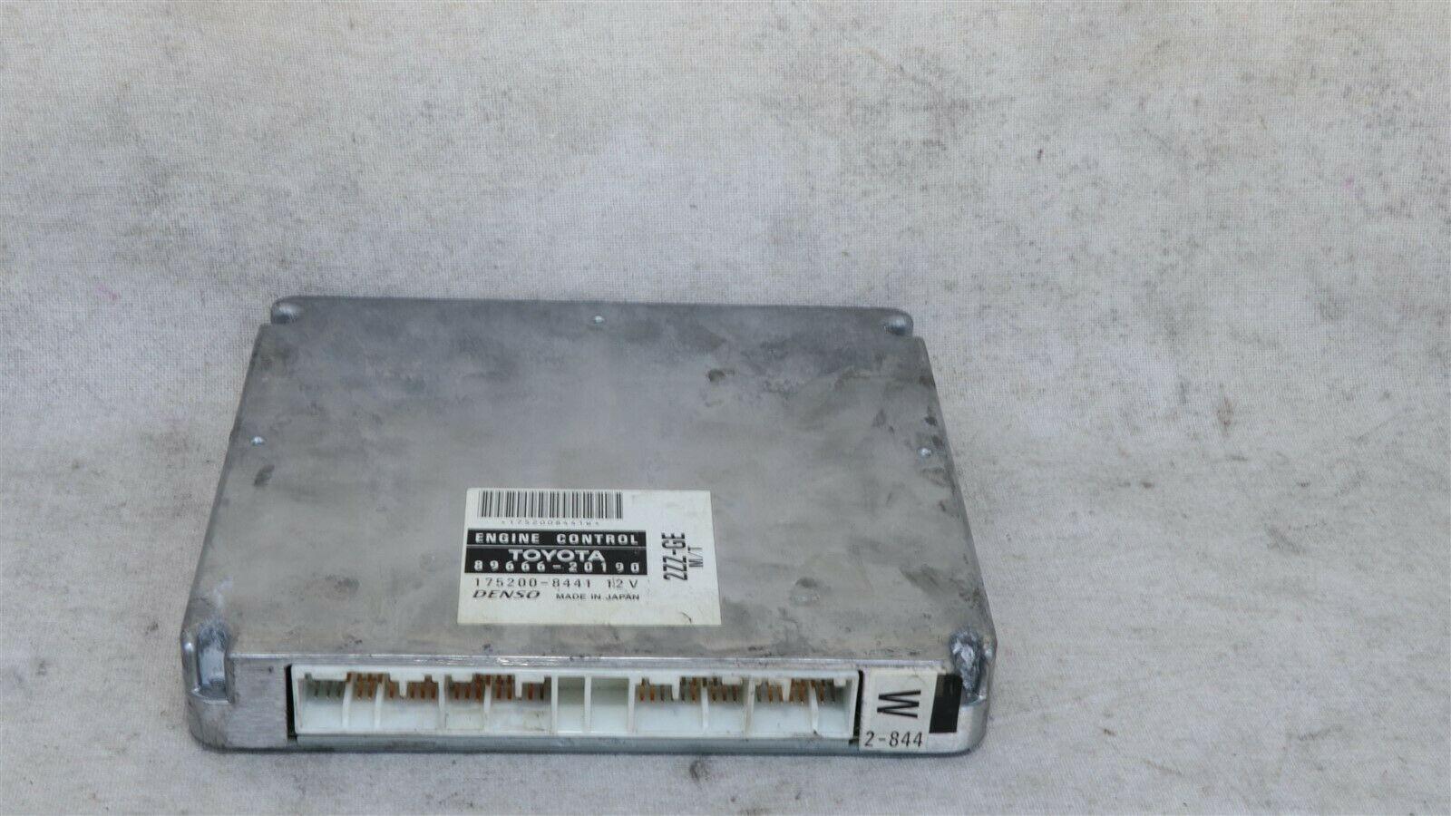 Toyota 2ZZ-GE MTX ECM ECU Engine Control Module 89666-20190, 175200-8441