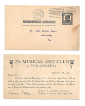 UX20 Simplex Theater Movie Projectors Preprinted Advertising Postal Card - $4.99