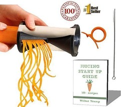 #1 Zoodle Magic Veggie Spiralizer + BONUS PACK - eBook + Cleaning Bush +... - $7.91