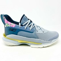 Under Armour Curry 7 Chinese New Year Grade School Size 4 Floral 3022113... - $100.00
