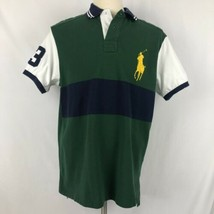 Polo Ralph Lauren Color Block Shirt XL Custom Fit Big Pony - $34.64