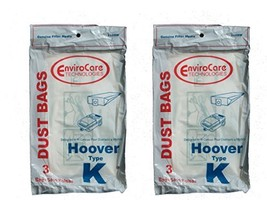 EnviroCare 6 Hoover Spirit Style K Canister Vacuum Cleaner Bags - $6.57