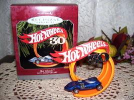 1998 Hallmark Ornament Hot Wheels 3oth Anniversary - $18.41