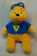 "Disney Soft Super Sleuth Winnie The Pooh Bear 14"" Plush Stuffed Animal Toy - $19.80"