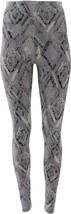 Yummie Rachel Printed Compact Cotton Legging Black Combo XL NEW 653-370 - $42.55