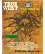 TRUE WEST  August 1966 - BUCK JONES, GOLD CANYON, LOST GOLD & SILVER MIN... - $3.99